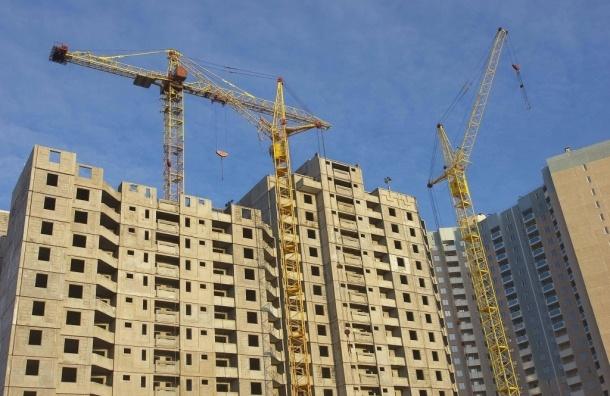 В Петербурге в 2014 году введены в эксплуатацию рекордные объемы жилья
