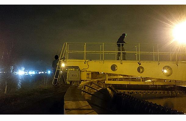 «Водоканал» проводит проверку после проникновения руферов на станцию аэрации