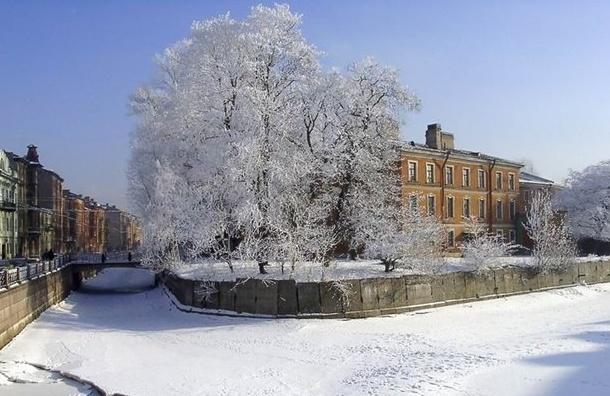 Новый год Петербург встретит при нулевой температуре