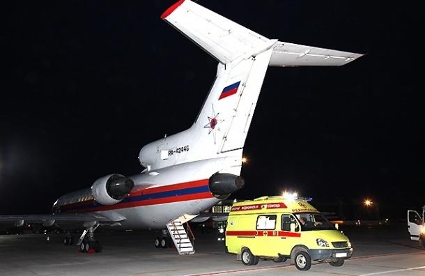 Спецборт МЧС привезет двух больных детей из Крыма