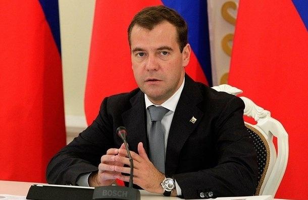 В свой день Рождения Медведев угощал всех исключительно российскими продуктами