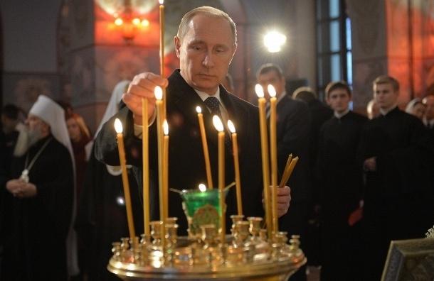 Патриарх Кирилл провел экскурсию по восстановленному храму в Царском Селе для Владимира Путина
