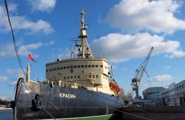 Ледокол «Красин» вернулся из ремонта