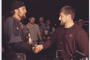 Кадыров поздравил байкера «Хирурга» с попаданием в санкционный список