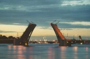 Биржевой мост разведут сегодня ночью в Петербурге