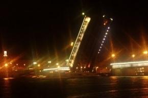 Этой ночью в Петербурге разведут два моста