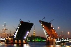 В Петербурге в ночь на 11 декабря разведут три моста