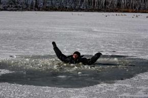 С 15 декабря в Северной столице запрещено выходить на лёд