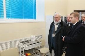 Георгий Полтавченко посетил новые социальные учреждения в Калининском районе