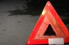 На Октябрьской набережной столкнулись три автомобиля