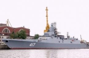 На воду спустили фрегат  «Адмирал Касатонов»