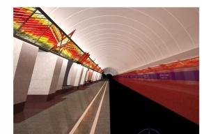 Эскизы станции метрополитена  «Проспект Славы» выложены в Сети