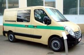 В центре Петербурга похищена инкассаторская машина