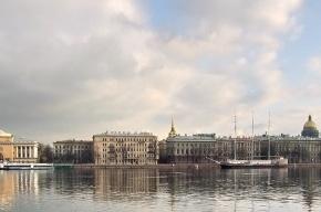 Проезд по Адмиралтейской набережной будет сужен из-за нового коллектора