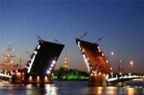 В ночь на среду в Петербурге разведут два моста