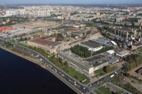 Правительство Петербурга договорилось с заводом «Реактив» о застройке участка Октябрьской набережной