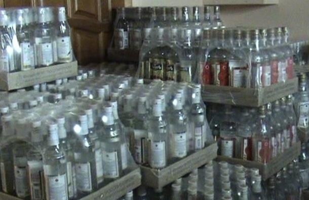 В Колпино прокуратура изъяла 7 тонн поддельного алкоголя