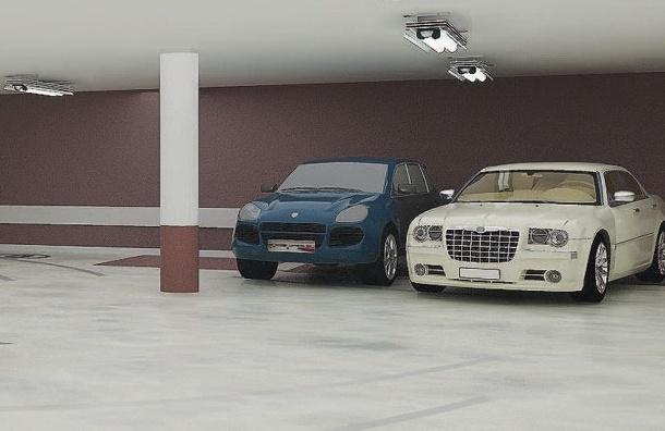 Власти Петербурга рассматривают вопрос строительства подземных паркингов