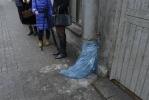 Фоторепортаж: «Пакеты на трубе, фото: Сергей Ермохин»
