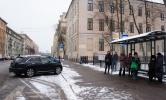 Рейд по освобождению автобусных остановок : Фоторепортаж