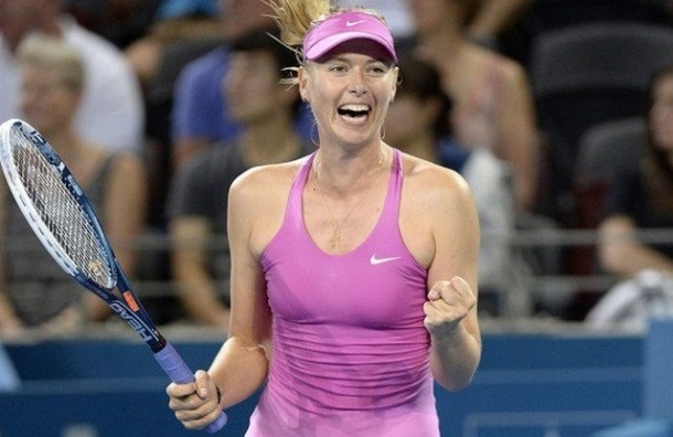 Мария Шарапова стала победительницей турнира в Брисбене