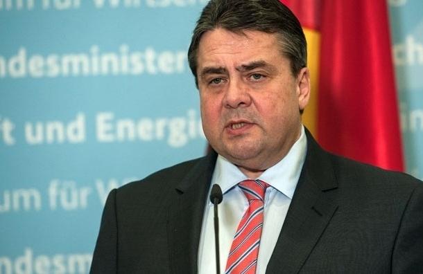 Вице-канцлер ФРГ против новых санкций в отношении России