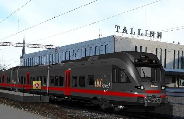 Количество поездов на линии Таллин - Санкт-Петербург сокращено