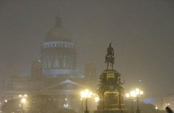МЧС предупреждает о сильном снегопаде в Ленобласти 13 января