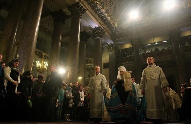 В Петербурге главное богослужение в Рождество пройдет в Казанском соборе