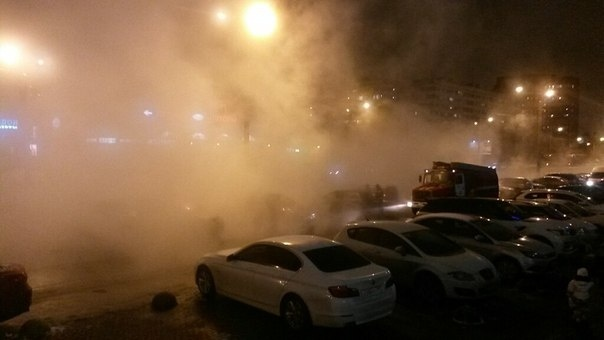 Коммунальная авария 28.01: Фото
