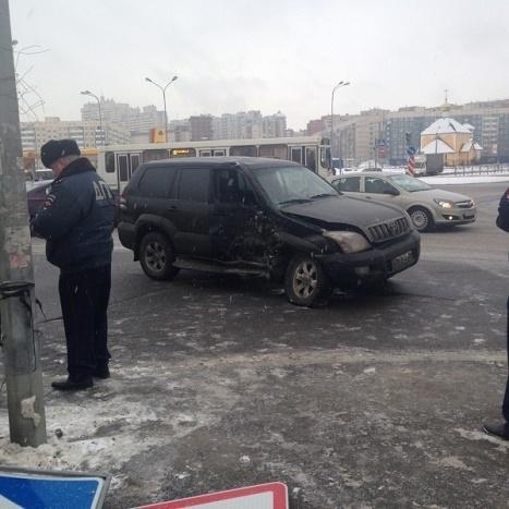 ДТП с автобусом 27.01.15: Фото