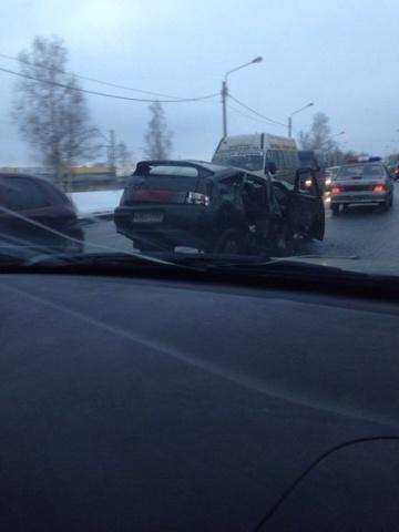 28.01 авария на Петергофском : Фото