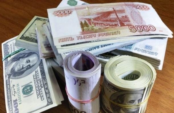 На открытии торгов в понедельник иностранная валюта растёт