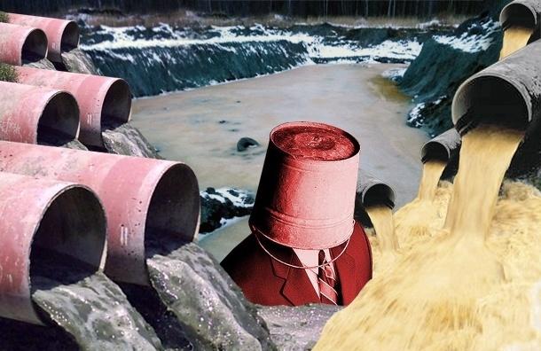 В Красном Бору «потек» токсичный полигон