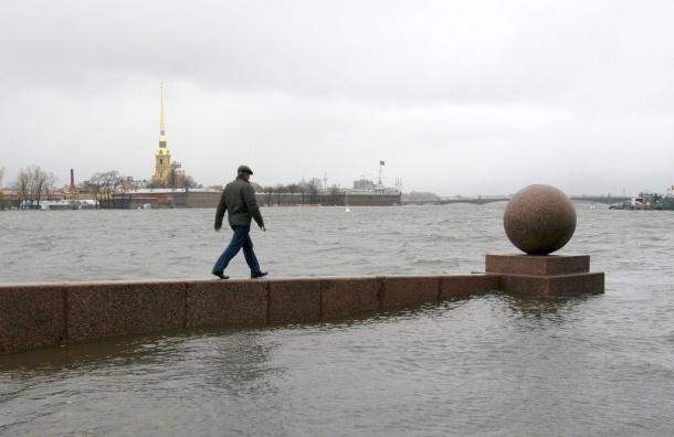 Защитные створки дамбы Петербурга начинают открывать