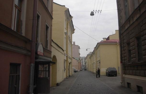 Самую узкую улицу Петербурга ждет капитальный ремонт