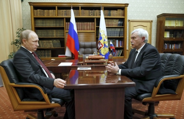 Георгий Полтавченко рассказал Президенту России об итогах развития Петербурга в 2014 году