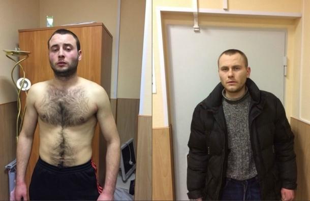 В Московском районе задержаны двое украинцев, жестоко нападавших на женщин