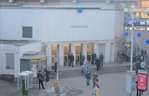 Вход на «Приморскую» будет ограничен до 23 марта