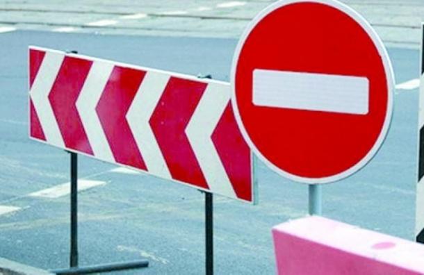 Из-за прокладки газопровода будет ограничено движение по нескольким улицам в Петербурге