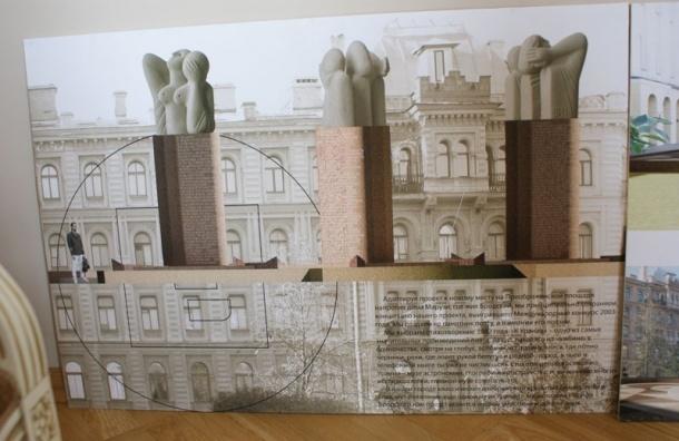 Памятника Иосифу Бродскому на Пироговской набережной не будет