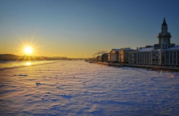 В Петербург на смену оттепели пришло похолодание