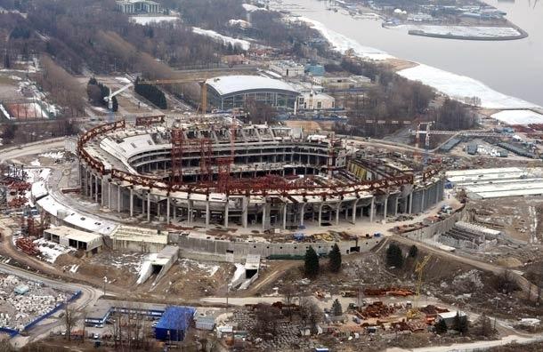20% строителей-мигрантов покинули стройку стадиона «Зенит-Арена»