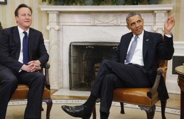 Барак Обама и Дэвид Кэмерон договорились не ослаблять санкционное давление на Россию