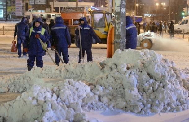 В Петербурге открылась горячая линия по вопросам уборки улиц и трасс