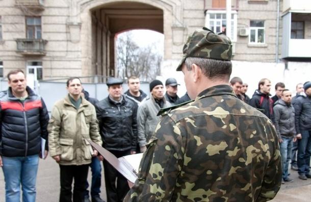 На Украине идет мобилизация с опережением
