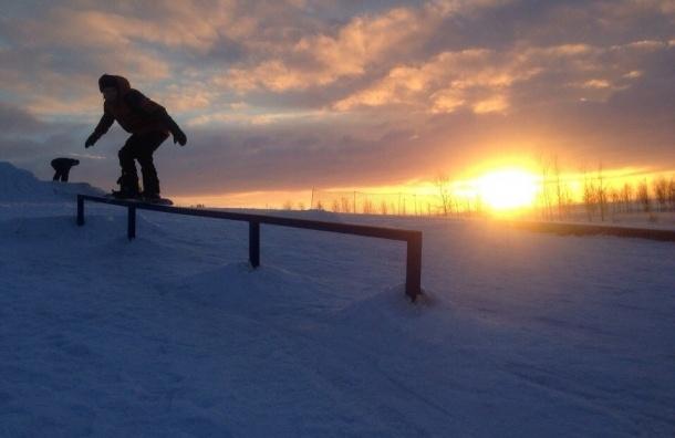 В Петербурге открылась первая горнолыжная школа в черте города