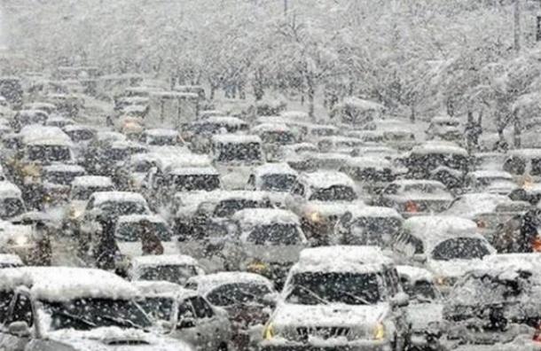 МЧС предупреждает о возможной сложной дорожной ситуации 12 января