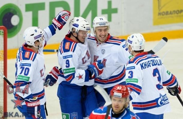 СКА обыграл ЦСКА и одержал восьмую победу подряд