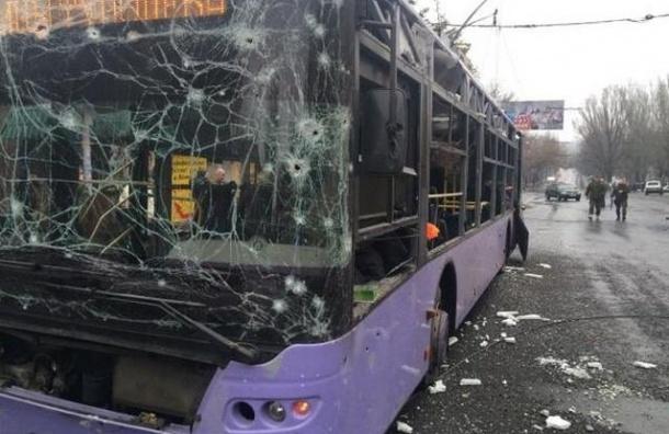 В Донецке задержана диверсионная группа, причастная к взрыву на остановке